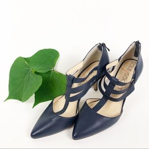 Sole Society Navy Blue Heels
